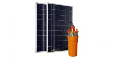 bomba de agua solar sumergible